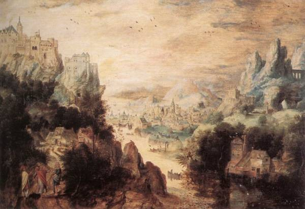 Landscape With Christ And the Men Of Emmaus